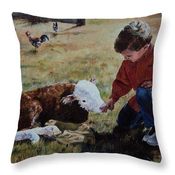 20 Minute Orphan Throw Pillow