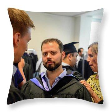 Msm Graduation Ceremony 2017 Throw Pillow