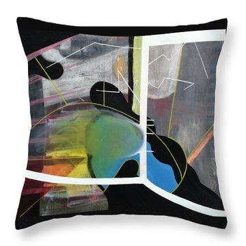 200 Percent Throw Pillow by Antonio Ortiz