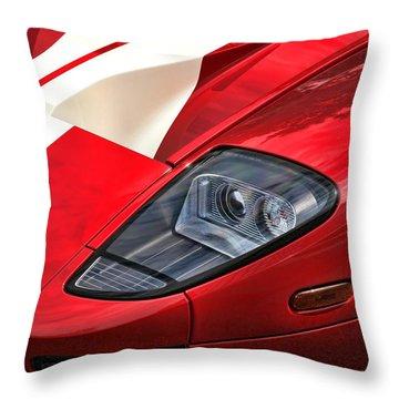 2004 Ford Gt Throw Pillow by Gordon Dean II