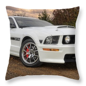 2008 Mustang Gt/cs - California Special - Sunset Throw Pillow