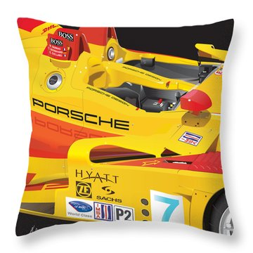 2008 Rs Spyder Illustration Throw Pillow