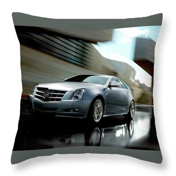 2011 Cadillac Cts Coupe Throw Pillow