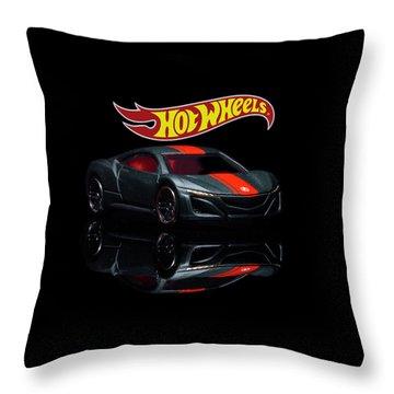 2012 Acura Nsx-2 Throw Pillow