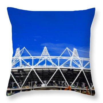 2012 Olympics London Throw Pillow