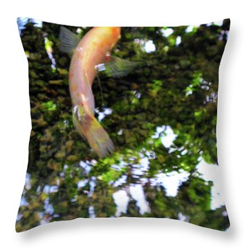 Swedish Coy Throw Pillow