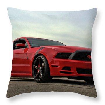 2014 Mustang Throw Pillow