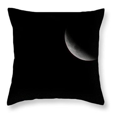 2015 Harvest Moon Eclipse 1 Throw Pillow