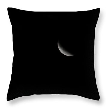 2015 Harvest Moon Eclipse 1 Throw Pillow by Terry DeLuco