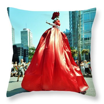 2015 Montreal Lgbta Parade  Throw Pillow