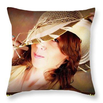 2016 Brand New Headshot Throw Pillow by Silvana Vienne