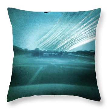 Throw Pillow featuring the photograph 2016 In One Exposure by Will Gudgeon