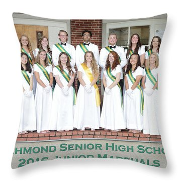 2016 Jr Marshals Throw Pillow