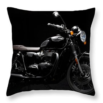 2016 Triumph Bonneville T120 Throw Pillow