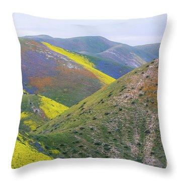 2017 California Super Bloom Throw Pillow