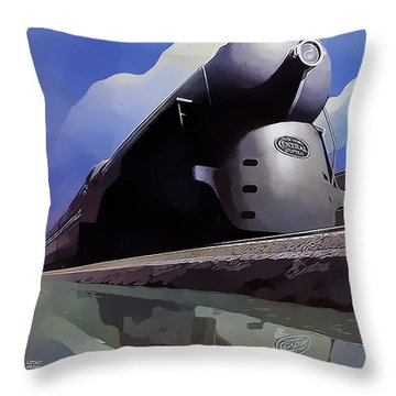 20th Century Limited Throw Pillow