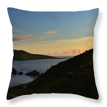 Throw Pillow featuring the photograph Blasket Islands by Barbara Walsh