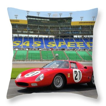 21 Throw Pillow