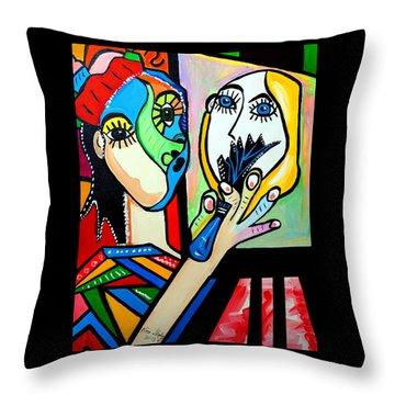 Artist Picasso Throw Pillow