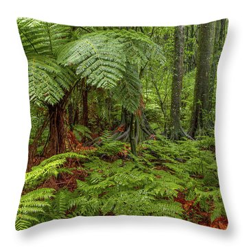 Throw Pillow featuring the photograph Jungle by Les Cunliffe