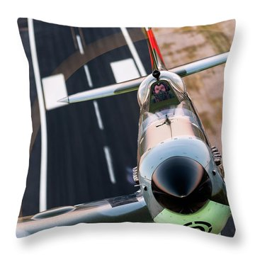 22 Close Throw Pillow