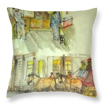 the ole' West my way album Throw Pillow