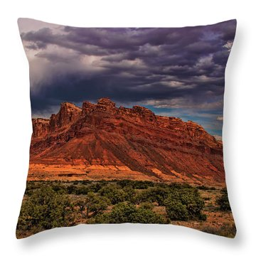 San Rafael Swell Throw Pillow