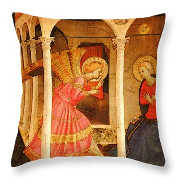 Fra Angelico  Throw Pillow
