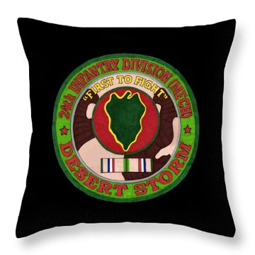 24th Id Throw Pillow