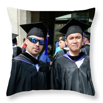 Msm Graduation Ceremony 2017 Throw Pillow