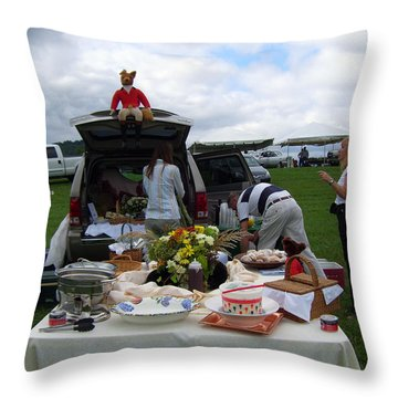 Thornton Hill Point To Point Throw Pillow