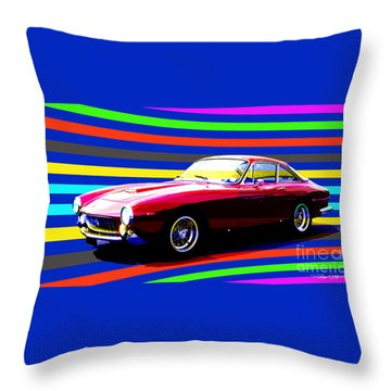 250 Gt Lusso Throw Pillow by Roger Lighterness