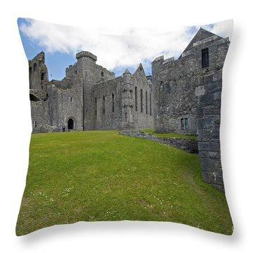 257 Rock Of Cashel Throw Pillow