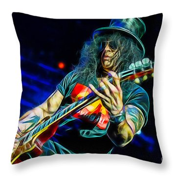 Slash Collection Throw Pillow