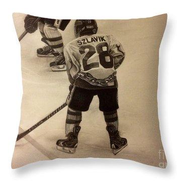 #28 Szlavik Throw Pillow