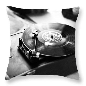 Wedding Throw Pillow by Steven Poulton