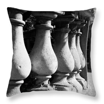 Balusters Throw Pillows