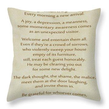 Wisdom Throw Pillows