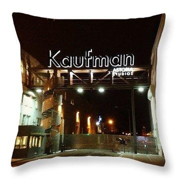 Kaufman Astoria Studios Throw Pillow