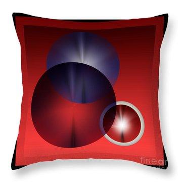 Throw Pillow featuring the digital art 2978 2017 by John Krakora