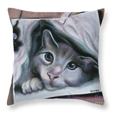 2cute Throw Pillow