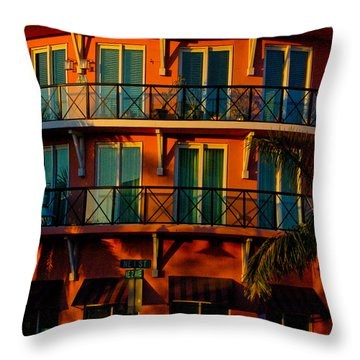 2nd And 2nd Throw Pillow