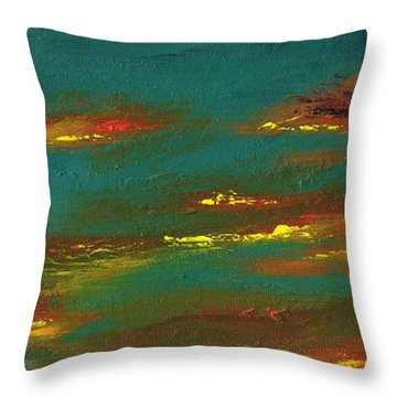 2nd In A Triptych Throw Pillow