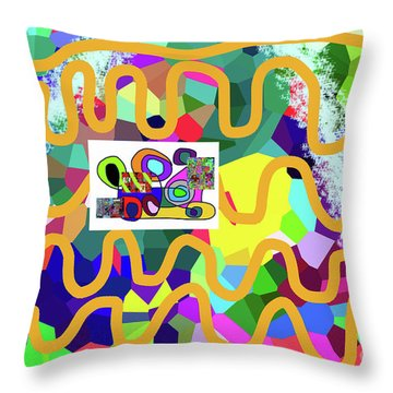 3-11-2057m Throw Pillow
