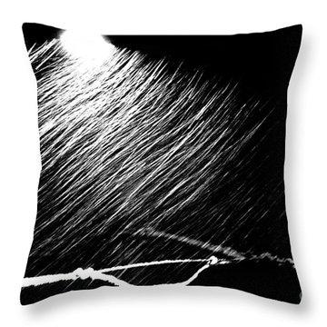 3-21-16 Snow Throw Pillow