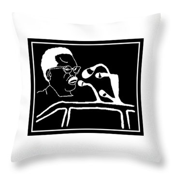 Agostinho Neto Throw Pillow
