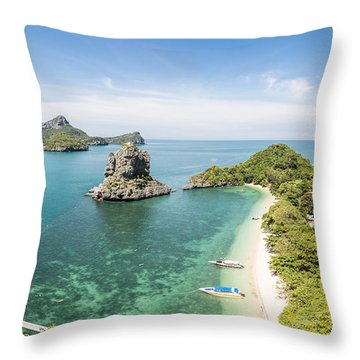Ang Thong Marine National Park Throw Pillow