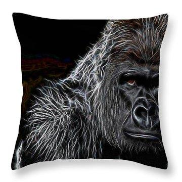 Ape Collection Throw Pillow