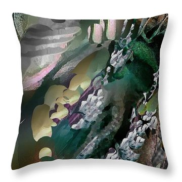Divine Colors Of Art Throw Pillow