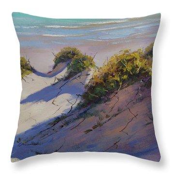 Beach Dunes Throw Pillow